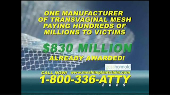 Goza Honnold Trial Lawyers TV Spot, 'Mesh Implant Claim' - Thumbnail 4