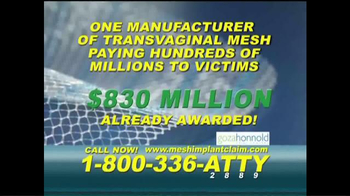 Goza Honnold Trial Lawyers TV Spot, 'Mesh Implant Claim' - Thumbnail 5