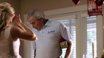 Mitsubishi Electric TV Spot, 'Monthaversary' Featuring Fred Couples - Thumbnail 5