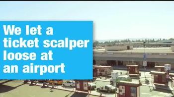 Ticketmaster TV Spot, 'Airline Ticket Scalper Prank' - Thumbnail 1