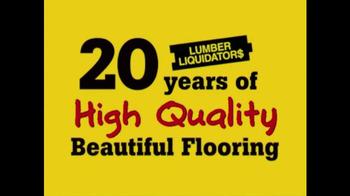 Lumber Liquidators TV Spot, 'Click Strand Bamboo' - Thumbnail 2