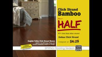Lumber Liquidators TV Spot, 'Click Strand Bamboo' - Thumbnail 7