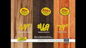 Lumber Liquidators TV Spot, 'Click Strand Bamboo' - Thumbnail 8