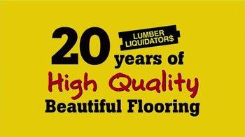Lumber Liquidators Spring Flooring Season TV Spot, 'Handscraped Bamboo' - Thumbnail 2