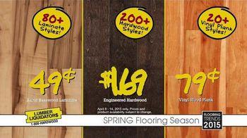 Lumber Liquidators Spring Flooring Season TV Spot, 'Handscraped Bamboo' - Thumbnail 7