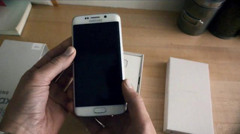 Samsung Galaxy S6 Edge TV Spot, 'Unboxing: First Impressions' - 172 commercial airings