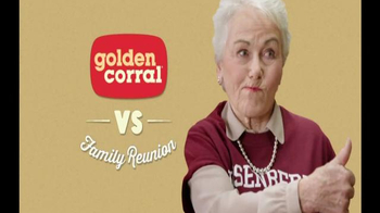 Golden Corral TV Spot, \'Family Reunion\'