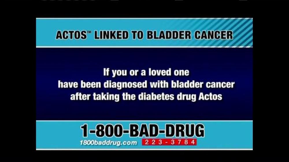 Pulaski Law Firm >> Pulaski & Middleman TV Commercial, 'Actos Bladder Cancer' - iSpot.tv