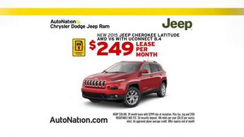 AutoNation Savings Event TV Spot, '2015 Jeep Cherokee' - Thumbnail 2