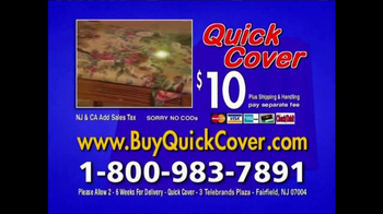 Quick Cover TV Spot, 'Fast and Easy' - Thumbnail 10