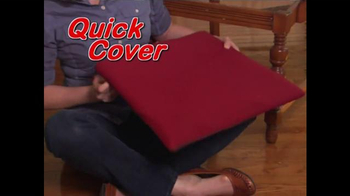 Quick Cover TV Spot, 'Fast and Easy' - Thumbnail 4