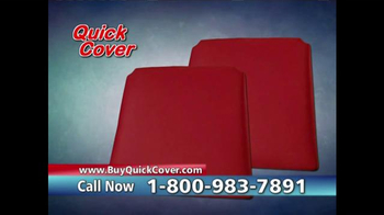 Quick Cover TV Spot, 'Fast and Easy' - Thumbnail 8
