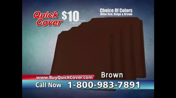 Quick Cover TV Spot, 'Fast and Easy' - Thumbnail 9