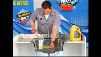 Plumber's Hero TV Spot, 'Unclog the Mess' - Thumbnail 1