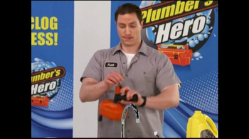 Plumber's Hero TV Spot, 'Unclog the Mess'