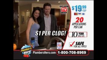 Plumber's Hero TV Spot, 'Unclog the Mess' - Thumbnail 7