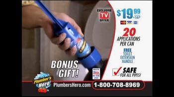 Plumber's Hero TV Spot, 'Unclog the Mess' - Thumbnail 8