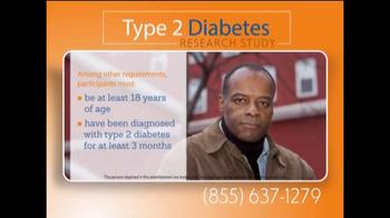 Freedom Type 2 Diabetes Research Study TV Spot - Thumbnail 6