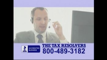 The Tax Resolvers TV Spot