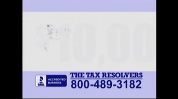 The Tax Resolvers TV Spot - Thumbnail 1
