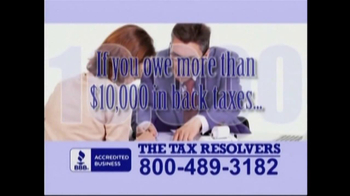 The Tax Resolvers TV Spot - Thumbnail 2