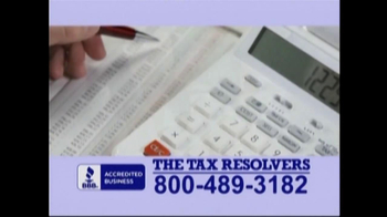 The Tax Resolvers TV Spot - Thumbnail 3