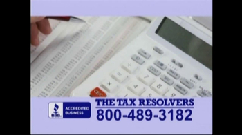 The Tax Resolvers TV Spot - Thumbnail 4
