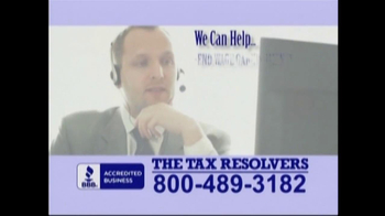 The Tax Resolvers TV Spot - Thumbnail 6