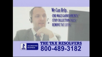 The Tax Resolvers TV Spot - Thumbnail 7