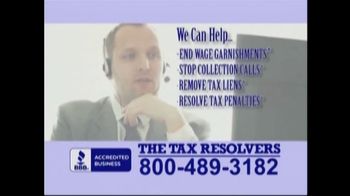 The Tax Resolvers TV Spot - Thumbnail 8