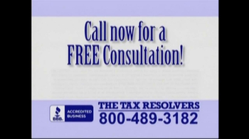 The Tax Resolvers TV Spot - Thumbnail 9
