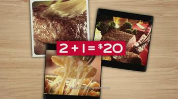 Chili's 2+1 = $20 TV Spot, 'Juicy Sirloin Steaks' - Thumbnail 9