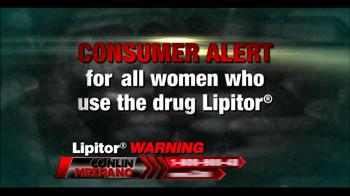 Conlin Mezrano Injury Lawyers TV Spot, 'Lipitor Warning' - Thumbnail 1