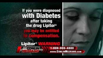 Conlin Mezrano Injury Lawyers TV Spot, 'Lipitor Warning' - Thumbnail 3