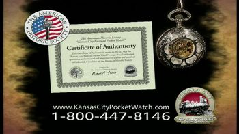 Kansas City Pocket Watch TV Spot thumbnail