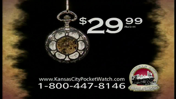 Kansas City Pocket Watch TV Spot - Thumbnail 9