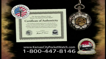 Kansas City Pocket Watch TV Spot - Thumbnail 8