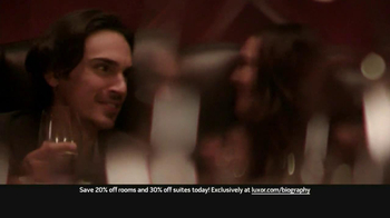 Luxor Hotel And Casino Las Vegas TV Spot, 'Biography' - Thumbnail 2