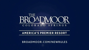 The Broadmoor TV Spot, 'New Rules' - Thumbnail 8
