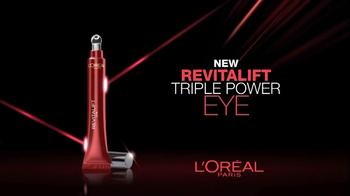 L'Oreal Revitalift Triple Power Eye TV Spot Featuring Andie MacDowell - Thumbnail 9