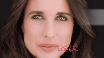 L'Oreal Revitalift Triple Power Eye TV Spot Featuring Andie MacDowell - Thumbnail 1