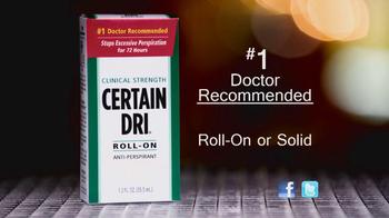 Certain Dri TV Spot, 'Hyperhidrosis' - Thumbnail 5