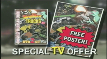 Lots & Lots of Monster Trucks DVD Set TV Spot - Thumbnail 4