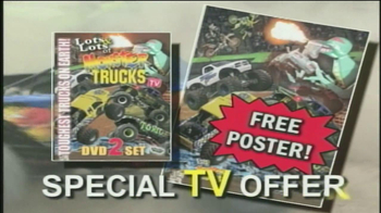 Lots & Lots of Monster Trucks DVD Set TV Spot - Thumbnail 8