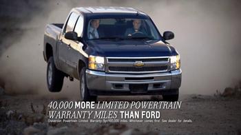 2013 Chevrolet Silverado 1500 TV Spot, 'Best Pickup Coverage' - Thumbnail 3