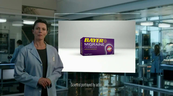 Bayer Migraine TV Spot, 'Powerful Relief' - Thumbnail 1