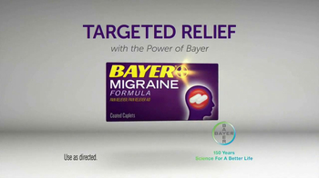 Bayer Migraine TV Spot, 'Powerful Relief' - Thumbnail 10