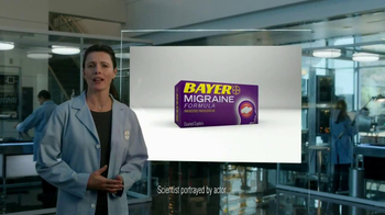 Bayer Migraine TV Spot, 'Powerful Relief' - Thumbnail 3