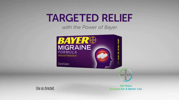 Bayer Migraine TV Spot, 'Powerful Relief' - Thumbnail 9