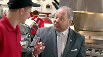 Arby's TV Spot, 'Triple Fresh Spinach' Featuring Bo Dietl - Thumbnail 5